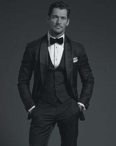 David Gandy para GQ Australia Diciembre 2015 - Male Fashion Trends