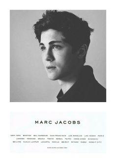 Logan Lerman for Marc Jacobs