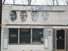 old corner grocery in Vicksburg MS