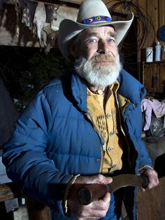 Tom Oar- Mountain Men- My Dad rodeoed with Tom back in the day. I've heard some wild stories about the two of them.