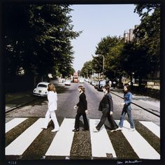 "Outtakes From The ""Abbey Road"" Album Cover Are Being Auctioned Off Next Month"