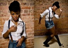 Janelle Monae without the suit! Flyy