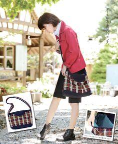 【楽天市場】作品♪213fw-07チェックのバッグ:毛糸ZAKKAストアーズ