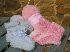 Baby Bed Socks on Etsy!