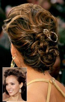 Gorgeous hair up!! Red carpet! Jessica Alba