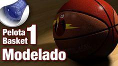 Tutorial cinema4d modelado sencillo de pelota de basket by @Ildefonso Quintana Quintana Quintana Segura