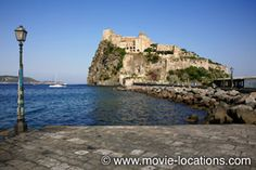 The Talented Mr Ripley filming location: Tom Ripley arrives in 'Mongibello': Ischia Ponte, Ischia, Italy