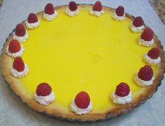 Flavors by Four: Lemon Sugar Cookie Tart