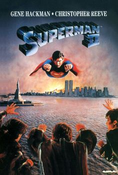 Superman II. Both Superman and Superman II are excellent. We went to see these movies. Brings back great memories. No one can ever be as good as Christopher Reeve as Superman. A brave, strong man.
