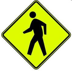 """That pedestrian crossing sign does NOT mean """"run them over"""""""