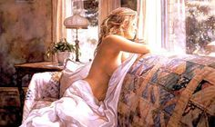 Steve Hanks was born in San Diego. He is recognized as one of the best watercolor artists working today. The detail, color and realism of Steve Hanks' paintings are amazing.