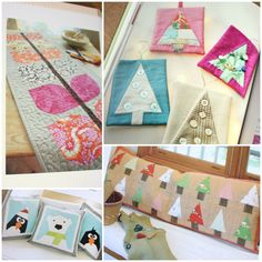 projects from Pretty in Patchworks; Holidays book, reviewed on: Diary of a Quilter - a quilt blog