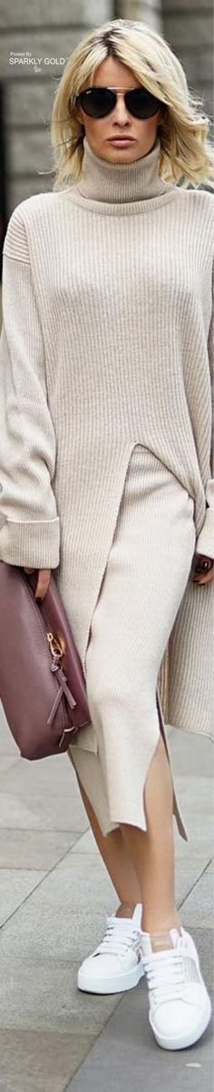 Autumn Winter Fashion, Spring Fashion, Street Chic, Street Style, Taupe, Beige, Cold Weather Outfits, Winter Looks, Classy Women