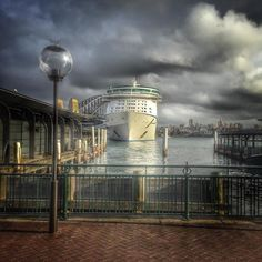 The sky was so dramatic over the harbour as the latest cruise ship docked.  #travel #traveling #traveller #travelinaustralia #instatravel #outdoors #photographer #photographyoftheday #photographylovers #landscape #australia #Sydney #sydneyharbour #sydneyharbourbridge #getoutthere #holiday #lonelyplanet #backpacking #backpacker #budgettravel #cruise #cruiseship #circularquay #meetmeinmontauktravel #canon by sarah_louise_011 http://ift.tt/1NRMbNv