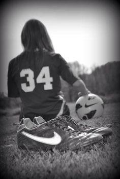 Soccer senior pics 2013 i cant wait untill im a senior :)