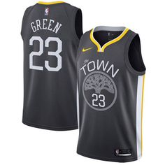 Nike Warriors  23 Draymond Green Black Statement Edition NBA Swingman Jersey  Basketball Trikots 104a17b24