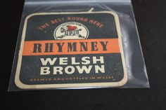 1962 Beermat Rhymney Brewery Cat 026 (2M87) 10/14)