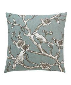 Look what I found on #zulily! Azure Vintage Blossom Throw Pillow by DwellStudio #zulilyfinds