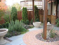 Patio and herb garden | under deck patio* | The Great Outdoors, Landscaping, Charlottesville
