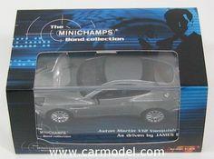 MINICHAMPS 400137220 1/43 ASTON MARTIN V12 VANQUISH - 007 JAMES BOND - DIE ANOTHER DAY