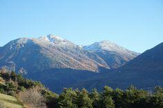 Schweiz Wallis Berge Alpen Oberems