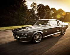 "Car of the day – 1967 Mustang Shelby Eleanor HD Engine: 770 hp kW). Top speed is 274 km/h mph). This car was originally used in the movie ""gone in 60 seconds"". Shelby Cobra Gt500, Ford Mustang Shelby Gt500, 1967 Shelby Cobra, Shelby Gt 500, Ford Shelby, Mustang Cars, Shelby Eleanor, Ford Mustangs, Muscle Cars"
