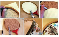 how to make those Racket Cork boards