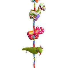 String Of Animals With Big Bead - Mobiles & Hanging - Product - Trade Aid