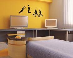 Malířská dekorační šablona Fotbal Corner Desk, Furniture, Home Decor, Corner Table, Decoration Home, Room Decor, Home Furnishings, Home Interior Design, Home Decoration
