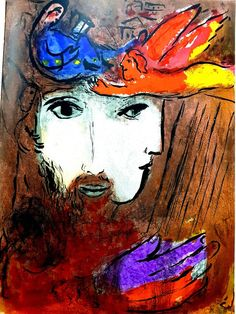 View Bible by Marc Chagall on artnet. Browse upcoming and past auction lots by Marc Chagall. Marc Chagall, Artist Chagall, Chagall Paintings, Pablo Picasso, Jewish Art, Naive Art, French Artists, Oeuvre D'art, Painting & Drawing