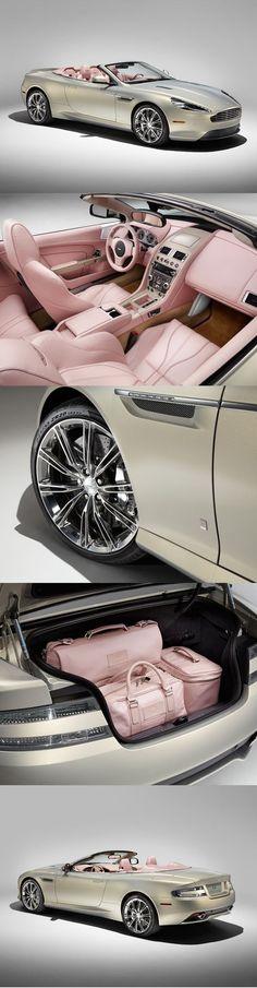 Aston martin pink look