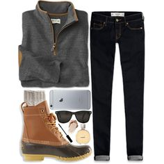 time is frozen. by marinampetrillo on Polyvore featuring polyvore, fashion, style, Abercrombie & Fitch, Toast, L.L.Bean, Lord & Berry and Chanel