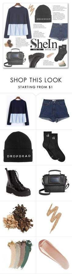 """""""She(In) Style!"""" by josi-heart ❤ liked on Polyvore featuring WithChic, StyleNanda, Calvin Klein, Jeffrey Campbell, Under One Sky, Urban Decay, Gucci and NARS Cosmetics"""