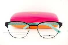 Kate Spade Eyeglass Frames. Kate Spade Eyeglass Frames, Kate Spade Frames, New Glasses, Glasses Online, Kate Spade Glasses, Eyewear Trends, Fashion Eye Glasses, Four Eyes, Cute Eyes