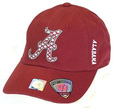 NCAA Licensed Womens Side Bar Slouch Fit Baseball Hat Cap Lid (Alabama Crimson Tide) Top of the World http://www.amazon.com/dp/B011SLF5UO/ref=cm_sw_r_pi_dp_L92Zvb1595KZW