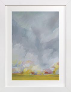 Grace in the Winds by Emily Jeffords at minted.com, beautiful colors and blending