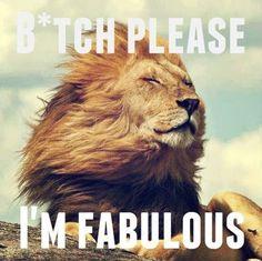 I'm Leo and I'm fabulous
