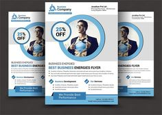 Creative Business Flyer by AfzaalGraphics on @creativemarket