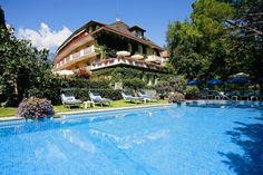 Meran, Südtirol. Hotel JULIANE - in ruhiger Sonnenlage von Obermais, abseits vom Straßenverkehr, mehr auf www.travelina.ch