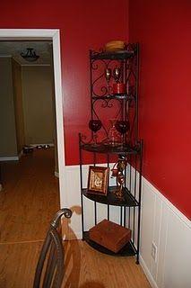 Black 6 Tier Corner Shelves Home Decor Shelving Ladder Wall Unit 5 1