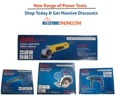 New Range of #Power #Tools ! Shop Today & Get Massive #Discounts On Bellstone Online. Call 9711010424