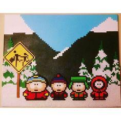 South Park perler pixel art by josephexplosiv