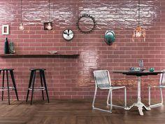 Indoor tile / wall-mounted / porcelain stoneware / high-gloss MANHATTAN VINTAGE FAP ceramiche