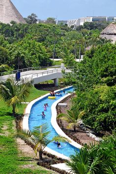 Grand Sirenis Riviera Maya, Cancun, Mexico in a few weeks I will post a pic of me floating around this with a drink!