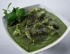 Paneer Pudina Kalimirch (Sanjeev Kapoor) #paneer #vegetarian