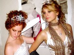 Photo of Taylor Swift and Abigail Anderson