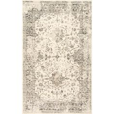 Darron Persian Vintage Grey 7 ft. 6 in. x 9 ft. 6 in. Area Rug-BDSL01A-76096 - The Home Depot