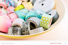 10 Ways to Store Washi Tape from the @Studio_Calico Creative Team
