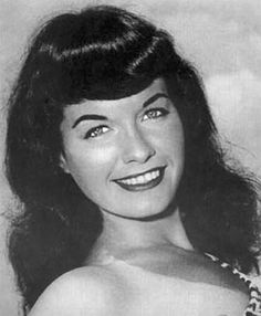 Bettie Page, Queen of pin up