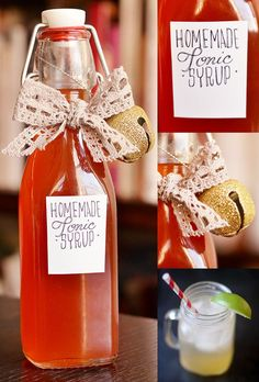 Homemade Tonic Syrup | 19 Edible Gifts For People Who Love Food More Than Anything